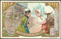 Charming Russia Children Clothing Moscow Boy Girl Clothing c1906 Trade Ad Card