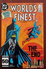 World's Finest Comics # 323 Last issue Superman Batman High Grade! Beautiful;