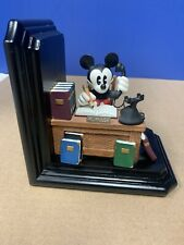 Disney Mickey Mouse Bookends At The Office Store Exclusive Statue