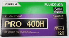 Fujicolor Pro 400 H boite de 5 films en 120 utilisable jusqu'a novembre 2017