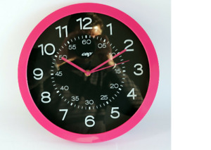 Gloss by CEP Wall Kitchen And Office Quartz Clock 820G in Pretty Pink BRAND NEW