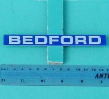 BEDFORD BADGE INSERT, TRUCK VAN BUS TK ETC, GENUINE BEDFORD, NEW