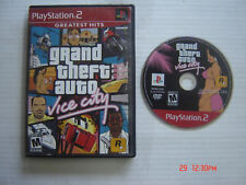 Video Game Playstation 2 Grand Theft Auto Vice City Greatest Hits PS2