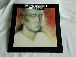 STEVE HACKETT.  UK LP.   DEFECTOR.   1980. CDS 4018