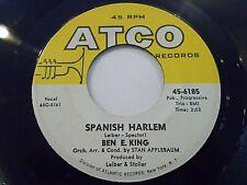 Ben E. King Spanish Harlem / First Taste Of Love 45 1960 ATCO Vinyl Record
