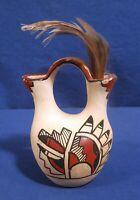 Reyes M. Jemez Art Pottery Vase Signed on bottom