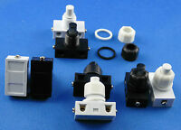 Installazione interruttore a pressione per lampade 250V 2A BIANCO O NERO