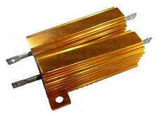 2pcs 10 Ohm Ohms 10R 50W Watt Heatsink Case Housing Wirewound Resistor Resistors