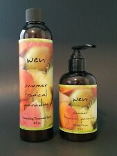 Wen By Chaz Dean Summer Tropical Paradise Texturizing treatment spray & Styling