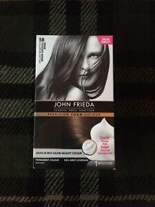 John Frieda precision foam colour permanent non-drip Brilliant Brunette 5B