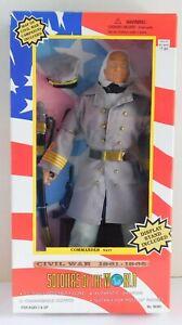 "Soldiers of the World Civil War 1861-1865 Commander Navy 12"" Figure NIB"