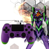 EVA-01 PS4 Slim Pro Controller Shell Case Full Custom Replacement Mod Kit Matte