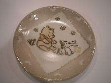 "Disney Sega Winnie the Pooh Mini Plate 4"" 2003"