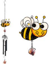 Long Handmade Delicate Lucky Busy Bee Suncatcher Windchime UK SELLER