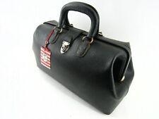 Vintage Leather Medi-Case Doctor's Bag with Tag