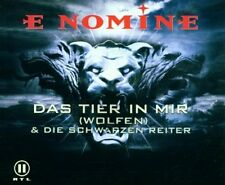 E Nomine Das Tier in mir (Wolfen; 3 versions/video, 2002, plus 'Die .. [Maxi-CD]