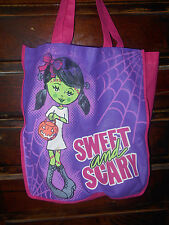 Monster High Girl Sweet And Scary Re-Usable Shopping Bag Tote By Justice