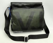 VERSACE JEANS Black Logo shoulder Bag messenger New