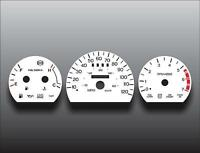 1997 Ford Thunderbird Dash Cluster White Face Gauges 97