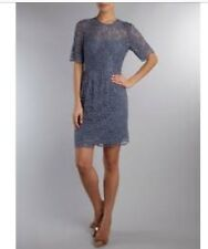 1c5622cd0271 Whistles Lace Dress With Keyhole Back And Peplum RRP £175. Size 6