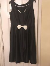 Ladies Hobbs Black Evening Dress Size 14