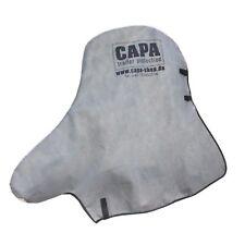 Die CAPA Schutzhaube für Anhänger-deichsel-schutz Hülle Abdeckung Kupplung grau
