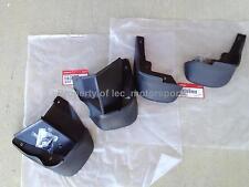 New Genuine OEM 96-98 Honda Civic EX LX DX Front & Rear Mud Flap Splash Guards