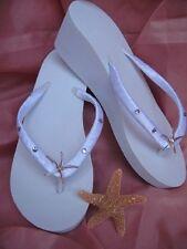 Bridal Flip Flops Beach Wedding Flip Flops Sandals
