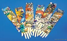 12 VINTAGE TEMPORALLY TATTOO SLEEVES ( 6 pairs )