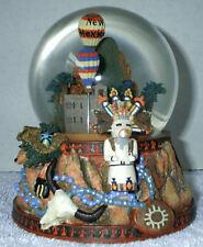 "New Mexico Musical Snow Globe - Plays ""Meixco Lindo"" + FREE SHIPPING"