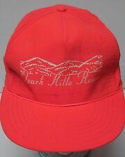 Vtg 1990s Ozark Hills Resort Missouri Lakes Advertising Neon Pink Snapback Hat