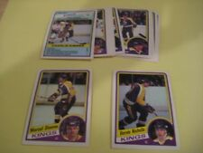 1984/85 O-Pee-Chee OPC Los Angeles Kings Team Set 12 Cards