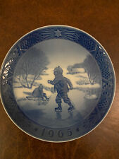 royal copenhagen Christmas Plate 1965