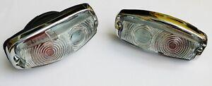 Pair Lucas L584 Lamp, Triumph Herald Vitesse Sprite MG Midget, 13H428 / 13H429