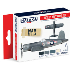 Hataka - Late U.S. Navy Acrylic Paint Set  HTK-AS05