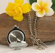 Stunning Glass Magnifying Front Pocket Watch