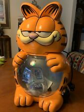 Vintage The Garfield Aquarium New Old Stock In Damaged Box (Lights Up)