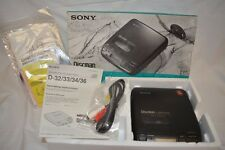 Sony Discman D-34 with Box and Charger