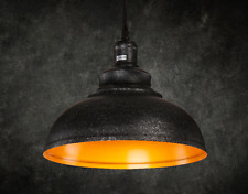 Neu Industrielampe Metall Vintage Hängeleuchte Kürbisflasche Pendelleuchte Lampe