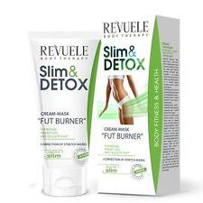 Revuele Slim & Detox Cream Mask Fat Burner 200ml Weight Loss & Anti-Cellulite