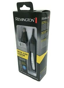 New Remington Nose Ear & Brow Dual Head Trimmer Battery Operated - FREE SHIPPING