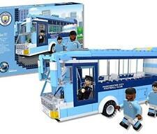 Paul Lamond 7854 Nanostars Manchester City FC Team Bus 3D Brick Construction Set
