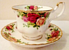Royal Albert Tea Cup Saucer Bone China Floral Pattern Old Country Roses