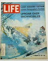 LIFE Magazine February 26 1971 Uproar Over Snowmobiles Larry Burrows Vietnam