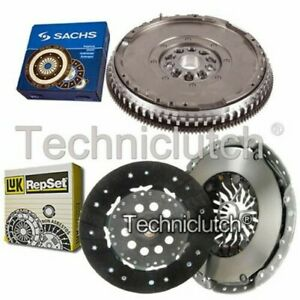 LUK 2 PART CLUTCH KIT AND SACHS DMF FOR VOLVO C70 CONVERTIBLE 2.3 T-5