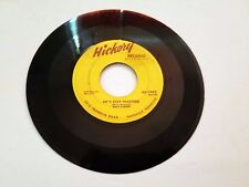Rusty & Doug Rockabilly 45 Honey Honey / Let's Stay Together Hickory Records