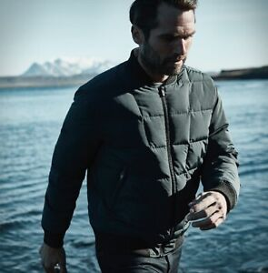 AETHER APPAREL down bomber jacket Small Size 1