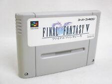 FINAL FANTASY V 5 FF Super Famicom Nintendo SNES Free Shipping Hit-Japan sfc