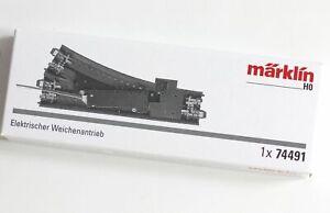 Märklin H0 74491 Accionamiento Desvío Eléctrico Para C Pista De Märklin + Trix
