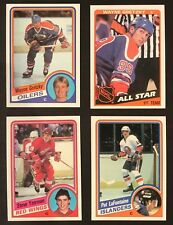1984-85 Topps Hockey Set 1-165, Yzerman LaFontaine RCs, Gretzky
